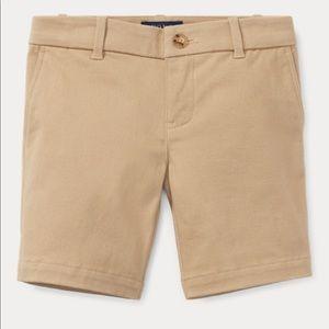 Polo Ralph Lauren Khaki Chino Shorts NWOT